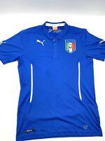 Puma Italia Italy FIGC 2014 Mens Football Shirt 744196 Size M