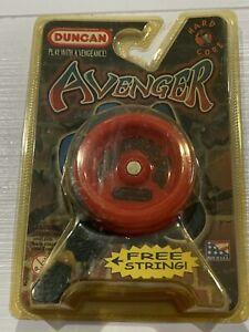 Duncan - AVENGER Yo-Yo ~ Yo Yo New Sealed In Package -USA - RED