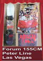 snowboard Forum Fear & Loathing in Las Vegas Peter Line with bindings 155 CM