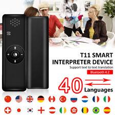 T11 Translaty MUAMA Enence Smart Instant Real Time Voice 40 Languages Translator