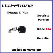 Apple iPhone 6S Plus Bouton Home Noir + Nappe