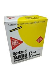 Borland Turbo C++ Visual Edition For Windows