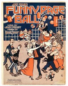 1918 Krazy Kat! Old Doc Yak! The Gumps! Mutt & Jeff! Comic strip sheet music