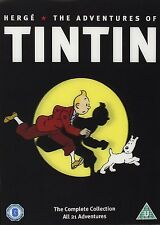 The Adventures Of Tintin Complete Collection All 21 Adventures DVD FREE SHIPPING