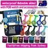 Nurse Pouch FOB Luminous Color Nurses Watch Extra Pocket Waist Pick Bag Penlight