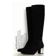 Pedro Garcia Xiomar Tall Black Suede Knee-High Boots - Size 36.5 EU (6.5 US)