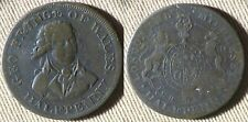 Token : Conder 1/2 Penny Geo Prince Of Walles VF-XF Details DH 953a IRTM528
