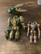 Transformers Generations Lot Of 3 BEAST WARS figures RHINOX RATTRAP WASPINATOR