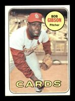 1969 Topps Set Break # 200 Bob Gibson EX *OBGcards*