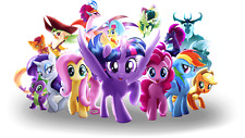 My Little Pony Iron On Transfer Light Fabrics 5 x 7 Size