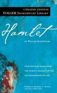 Hamlet ( Folger Library Shakespeare) - Mass Market Paperback - GOOD