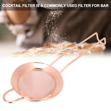 DIY Cone Shape Cake Powder Filter Cocktail Mesh Strainer Bar Accessories Tool