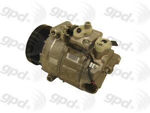 A/C  Compressor And Clutch- New Global Parts Distributors 7512213