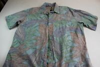 Tori Richard The Perfect Hawaiian CAMP SHIRT Pocket XL Extra Large