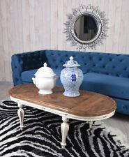 Living Room Table Solid Wood Metallbeine Coffee Tea Sofa Retro