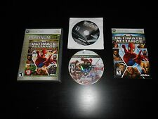 Marvel Ultimate Alliance Special Edition Platinum Complete XBOX 360 Game CIB