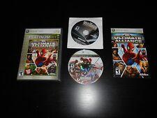 Marvel Ultimate Alliance Special Edition Platinum Complete XBOX 360 Game CIB