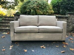 Crate and Barrel Davis Collection Apartment Sofa GENTLY used, purchased in 2017