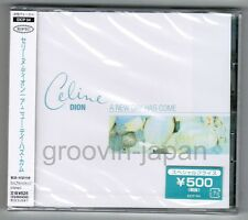 "Sealed Promo CELINE DION A New Day Has Come JAPAN 5"" CD EICP54 w/OBI+STICKER"