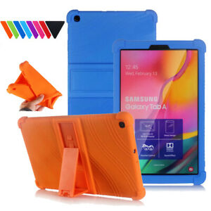Rubber Stand Back Case Cover For Samsung Galaxy Tab A 10.1 2019 T510 T515 Tablet