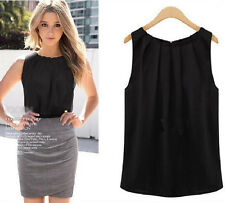 Fashion Women Summer Loose Sleeveless Tank T-Shirt Blouse Tops Vest Casual