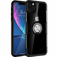iPhone 11 Pro Max Case 6.5 inch 2019, Carbon Fiber Design Clear Crystal Anti-Scr