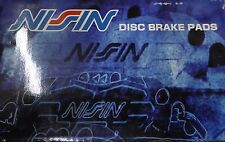 BRAND NEW NISSIN FRONT BRAKE PADS 100.07930 / D793 FITS VEHICLES ON CHART