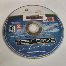 Test Drive Unlimited (Microsoft Xbox 360, 2006) DISC ONLY #885