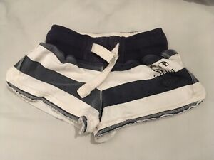 Navy Blue And Cream Shorts Size 8