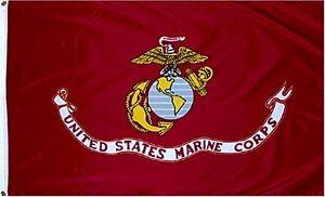 3'x5' US MARINE CORPS FLAG BANNER USMC QUALITY USA MILITARY SEMPER FI 3X5 100D