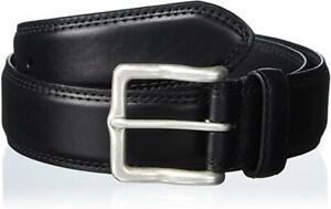 $110 - Allen Edmonds Wide Street Black Leather Belt Size 42