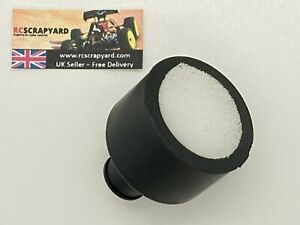 Nitro engine 1/10th RC fine foam air filter for RC engines up to .18 - From UK