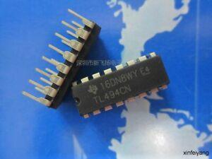 10PC  TL494CN line DIP-16 linear regulator circuit power management chip TL494