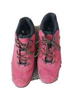 Cotton traders Size 9 Red Suede Lace Up Shoes