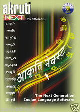Akruti NEXT The Next Generation Indian Language Software + BILL