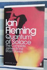 IAN FLEMING JAMES BOND 007 QUANTUM OF SOLACE THE COMPLETE SHORT STORIES UK PB