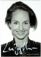 Lara Joy Körner - original signierte Autogrammkarte - hand signed