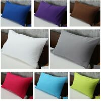 "Brushed Microfiber Pillow Cases Standard/Queen(20""x30"") Ultra Soft Bedding Sleep"