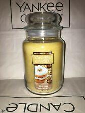 Luscious Pumpkin Trifle Yankee Candle 623g 22oz Large Jar - Brand New Genuine