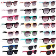 Aviator Mirrored Plastic Frame Sunglasses for Men