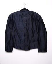 Kenzo Vintage Mandarin Collar Jacket Black- Rare Find