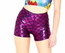 Unbranded Wet look, Shiny Shorts for Women