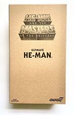 Super7 Filmation MOTU Ultimate He-Man Figure New In Shipper