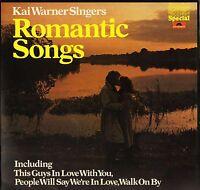KAI WARNER SINGERS romantic songs 2482 284 uk polydor LP PS EX+/EX