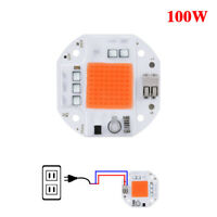 50W/70W/100W Full Spectrum AC110V/220 LED Chip Lamp Plant Grow Light Hydroponic
