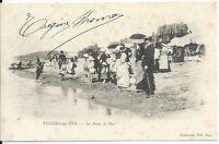 CPA 14 - VILLERS-sur-MER - Les Bains de Mer
