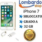 APPLE IPHONE 7 32GB GRADO A GOLD ORO ORIGINALE RIGENERATO RICONDIZIONATO