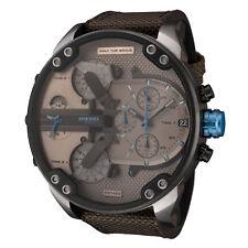 Diesel Men's Mr. Daddy 2.0 DZ7420 57mm Silver Dial Nylon Watch