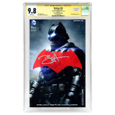 Ben Affleck Autographed Batman #50 CGC SS 9.8 Convention Photo Cover Variant