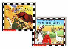 The Real Mother Goose Board Book & My First Mother Goose (board books) -2pk NEW